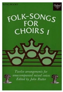 - 12 Folksongs For Choir Volume 1 - Partition - di-arezzo.fr