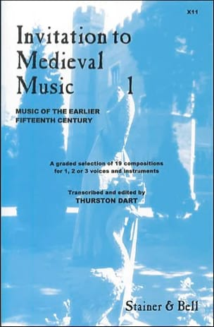 - Invitation To Medieval Music Volume 1 - Partition - di-arezzo.fr