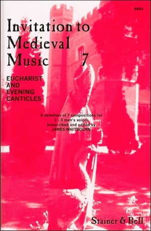 Invitation To Medieval Music Volume 7 - Partition - di-arezzo.fr