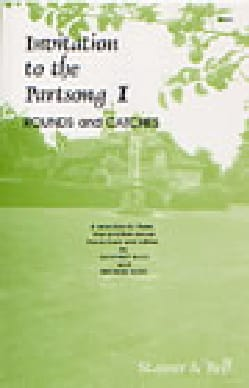 Invitation To The Partsong Volume 1 Partition Chœur - laflutedepan