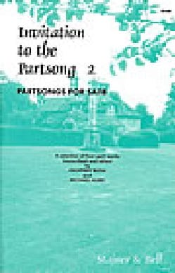 Invitation To The Partsong Volume 2 - Partition - laflutedepan.com