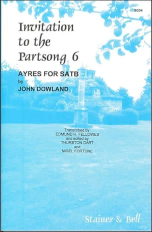 Invitation To The Partsong Volume 6 - John Dowland - laflutedepan.com