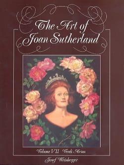 VERDI - The Art Of Joan Sutherland Volume 7 - Partition - di-arezzo.fr
