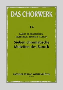 7 Chromatische Motetten des Barock - Partition - laflutedepan.com