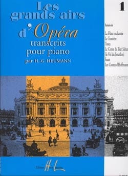 Les Grands Airs D'opéra Volume 1 Partition Piano - laflutedepan