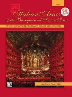 Italian Arias Of The Baroque And Classical Eras Voix Haute - laflutedepan.com