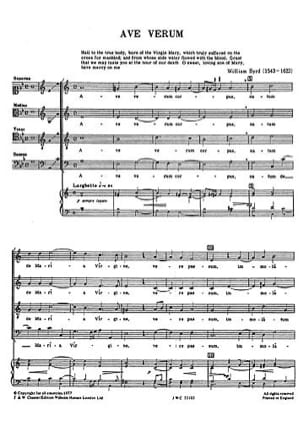- The English School For 4 Voices - Sheet Music - di-arezzo.co.uk