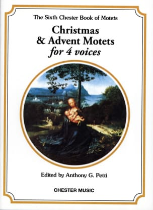 - Christmas And Advent Motets For 4 Voices - Partition - di-arezzo.fr