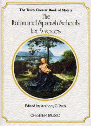 - The Italian And Spanish School for 5 Voices - Partition - di-arezzo.fr