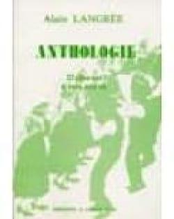 Langrée - Anthologie. 23 Choeurs Mixtes - Partition - di-arezzo.fr