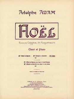 Adolphe Adam - Minuit Chrétien. Voix Haute - Partition - di-arezzo.fr