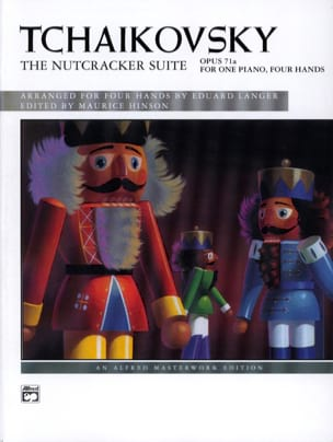 TCHAIKOWSKY - The Nutcracker Suite Opus 71a. 4 Hands - Sheet Music - di-arezzo.com