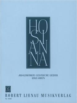 Hosianna Voix Haute - Partition - Mélodies - laflutedepan.com
