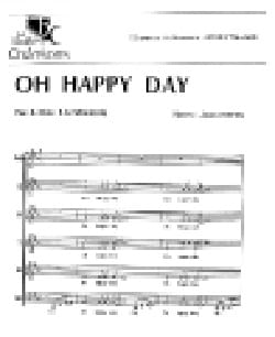 Oh Happy Day E.R Hawkins Partition Chœur - laflutedepan