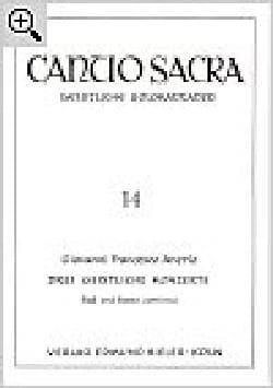 3 Geistliche Konzerte - Giovanni Francesco Anerio - laflutedepan.com