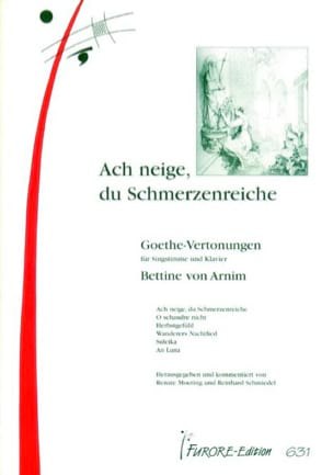 Goethe-vertronungen - , Bettina Von Arnim - laflutedepan.com