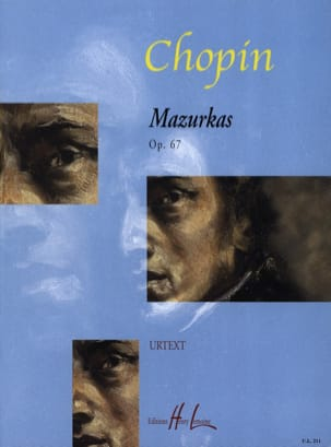 CHOPIN - 4 Mazurkas Opus 67 - Sheet Music - di-arezzo.co.uk