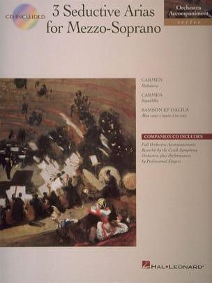 Bizet Georges / Saint-Saëns Camille - 3 Seductive Arias For Mezzo-Soprano - Partition - di-arezzo.fr