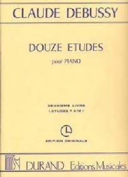 DEBUSSY - 12 Etudes. Volume 1 - Partition - di-arezzo.fr