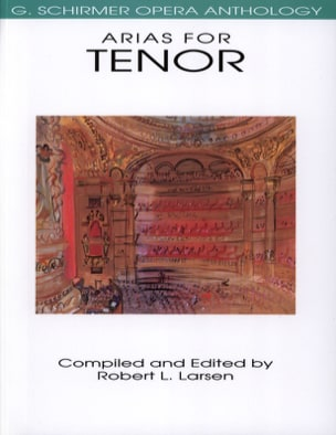 Opera Anthology : Arias Pour Ténor - Partition - di-arezzo.fr