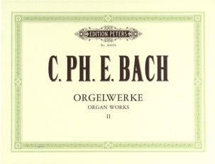 Carl-Philipp Emanuel Bach - L'oeuvre D'orgue Volume 2 - Partition - di-arezzo.fr
