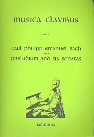 Carl-Philipp Emanuel Bach - Prélude et 6 Sonates - Partition - di-arezzo.fr