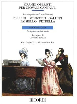 - Grandi Operisti Per Giovani Cantanti. Baritono - Partition - di-arezzo.fr