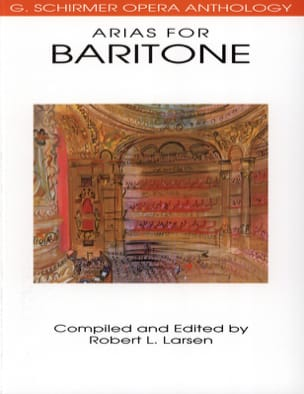 Opera Anthology : Arias Pour Baryton Partition Opéras - laflutedepan
