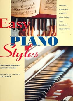 - Easy Piano Styles - Partition - di-arezzo.fr