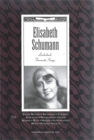 Elisabeth Schumann Liederbuch - Soprano - Partition - di-arezzo.fr