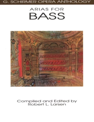 - Opera Anthology: Arias For Bass - Sheet Music - di-arezzo.com