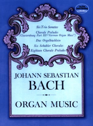 Organ Music BACH Partition Orgue - laflutedepan