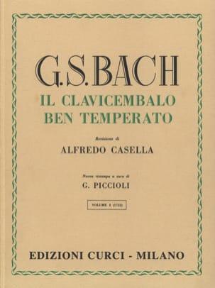 BACH - Le Clavier Bien Tempéré Volume 1 - Partition - di-arezzo.fr