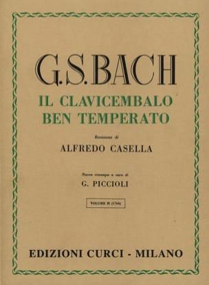 Jean-Sébastien Bach - Le Clavier Bien Tempéré Volume 2 - Partition - di-arezzo.fr