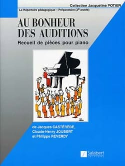 Castérède Jacques - Joubert - Reverdy - At the Happiness Of Hearings - Sheet Music - di-arezzo.com
