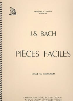 BACH - Pièces Faciles - Partition - di-arezzo.fr