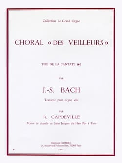 BACH - Choral of the Watchers - Sheet Music - di-arezzo.co.uk