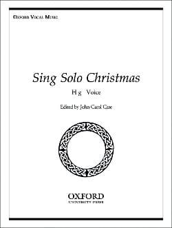 - Sing Solo Christmas. Voix Haute - Partition - di-arezzo.fr