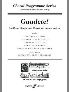 - Gaudete - Sheet Music - di-arezzo.co.uk