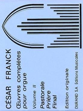 César Franck - Oeuvres complètes pour orgue - Volume 2 - Partition - di-arezzo.fr