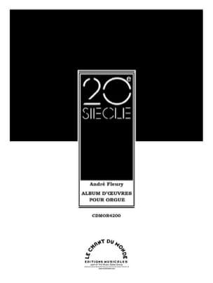 André Fleury - Album D'Oeuvres Pour Orgue - Partition - di-arezzo.fr