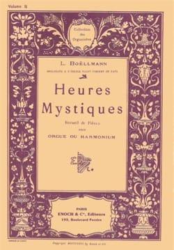 Léon Boëllmann - Heures Mystiques Opus 30 Volume 2 - Partition - di-arezzo.fr