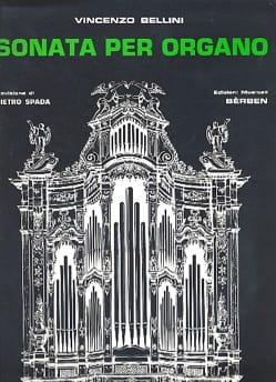 Sonata BELLINI Partition Orgue - laflutedepan