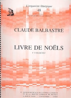 Claude-Bénigne Balbastre - Volume 1 Christmas Book - Sheet Music - di-arezzo.com