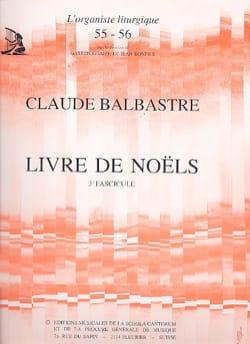 Claude-Bénigne Balbastre - Volume 3 Christmas Book - Sheet Music - di-arezzo.co.uk