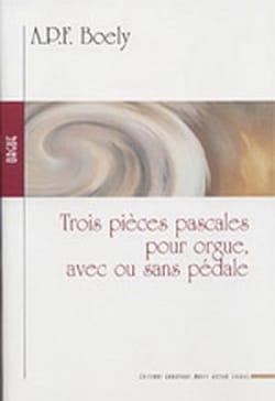 3 Pièces Pascales Alexandre Pierre François Boëly laflutedepan