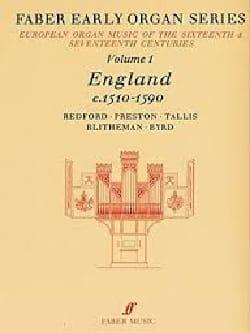 Early Organ Series Volume 1 Partition Orgue - laflutedepan