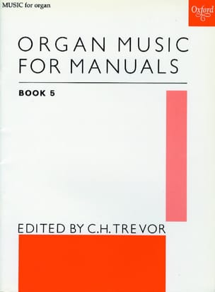 Organ Music For Manuals Vol 5 Partition Orgue - laflutedepan