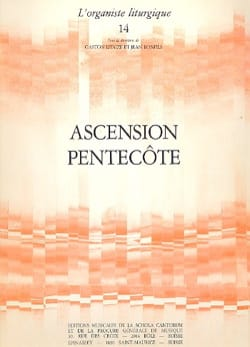 Ascension - Pentecôte - Partition - di-arezzo.fr
