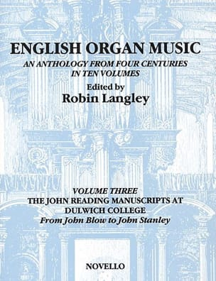 - English Organ Music Volume 3 - Partition - di-arezzo.fr